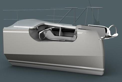 40' Blue water lifting keel cruising yacht : Owen Clarke Design