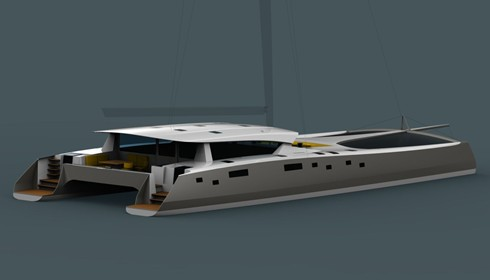 24m Custom performance cruising catamaran : Owen Clarke Design - Yacht Design and Naval Architects