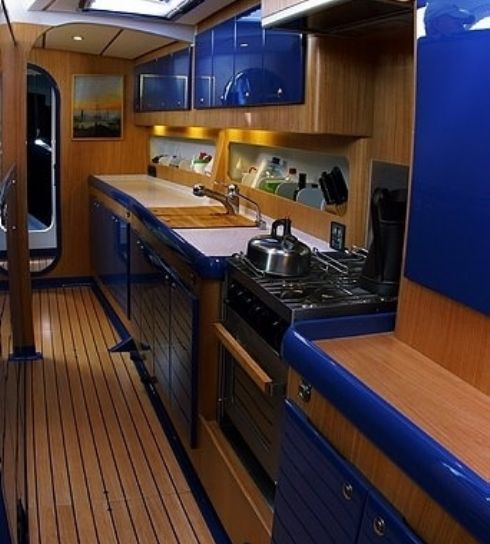 Spirit Of Adventure 65 Blue Water Cruising Yacht : Owen