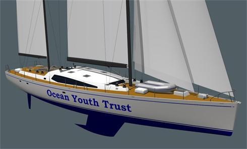 The new Owen Clarke OYT sail training ketch