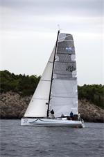 Class 40 Open sailboat Cutlass with Alex Mehran in Newport RI Credit: www.billyblack.com