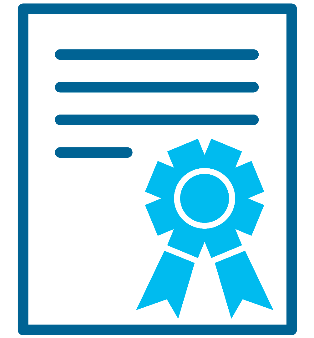 Accreditation & Certification Icon
