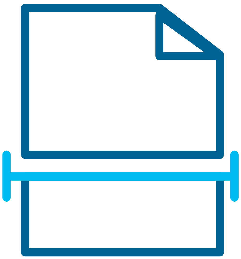 Large Format Scanning Icon