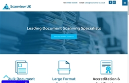Document Scanning Solutions - Document Scanning website design by Toolkit Websites, professional web designers