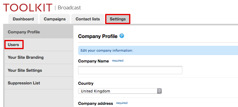How to add users to your Broadcast account
