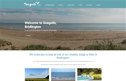 Seagulls - self-catering accomodation website design by Toolkit Websites, professional web designers