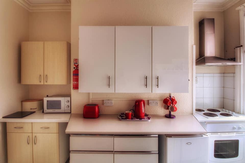 Seagulls apartment kitchen
