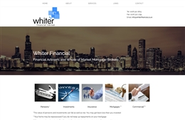 Whiter Financial - Financial website design by Toolkit Websites, professional web designers