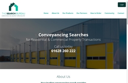 The Search Bureau - Property website design by Toolkit Websites, Southampton