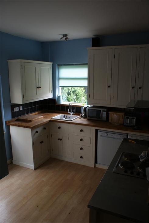 Part of full kitchen installation.
