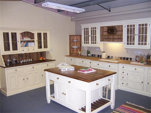 Full display kitchen installation. Island unit, 6'6