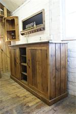 Kitchen Sideboard adapted from salvaged French dresser base  £850