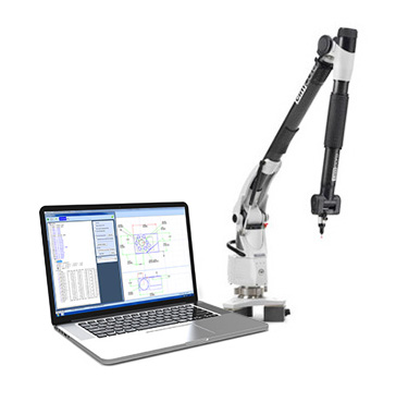 Aberlink 3D Measurement Software and CAD Comparison module are compatable with most portable arms.