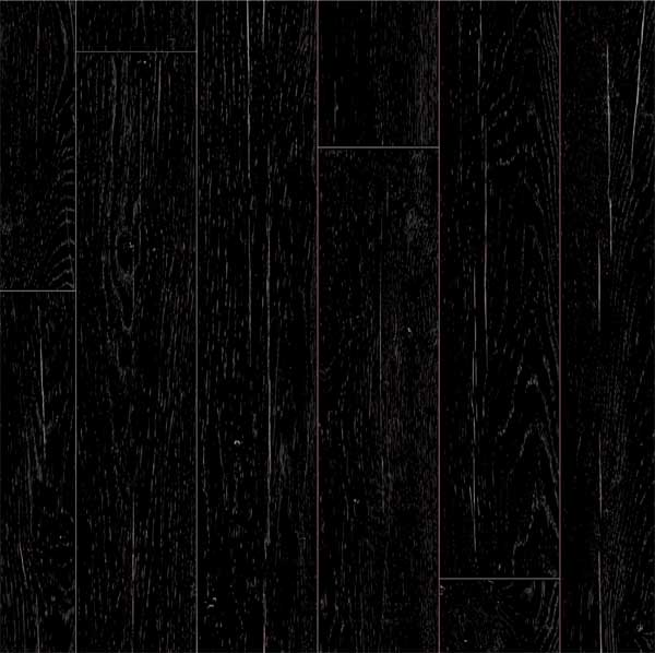 Black wood vinyl flooring images for Black vinyl floor tiles