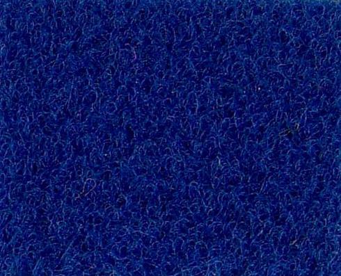 Bleu Fonce Needle Punch Velour exhibition carpet