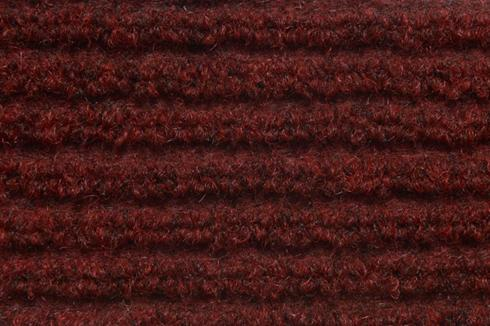 Bordeaux Hard wearing jumbo ribbed carpet