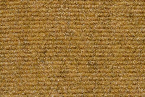 Caramel Hard wearing ribbed exhibition carpet