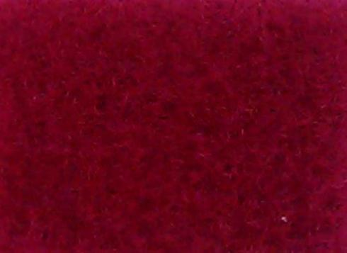 Cerise exhibition carpet