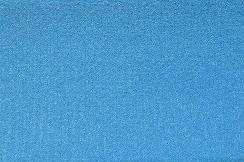 Cyan Plush Luxury Velour exhibition Carpet
