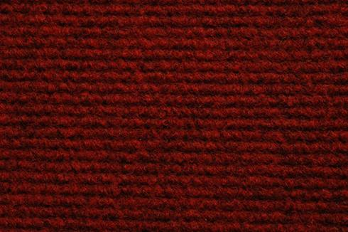 Dk Rood Foam Back exhibition Carpet