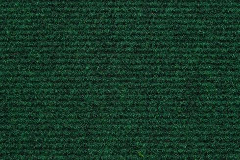 Grass Green Hard wearing ribbed exhibition carpet