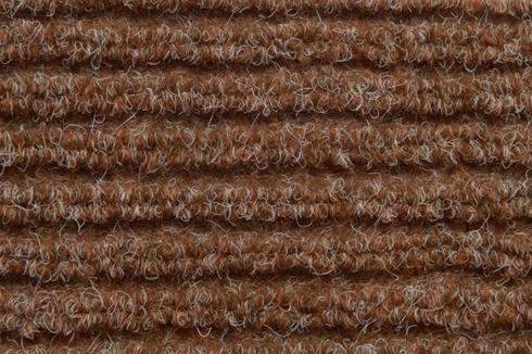 Light Brown Hard wearing jumbo ribbed carpet