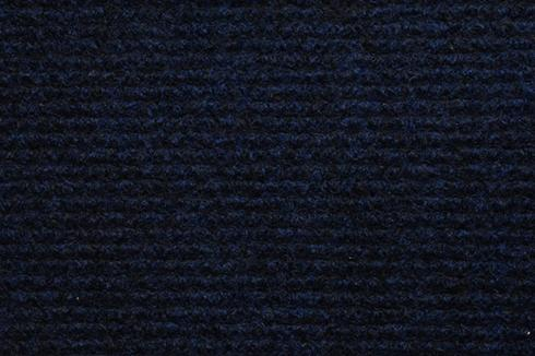 Meliert Blauw Foam Back exhibition Carpet