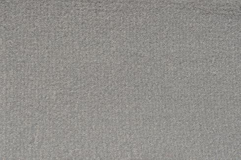 Mid grey Plush Luxury Velour exhibition Carpet