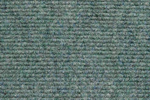 Mint Hard wearing ribbed exhibition carpet