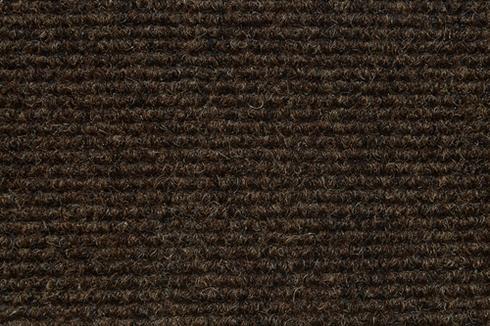 Mokka Hard wearing ribbed exhibition carpet