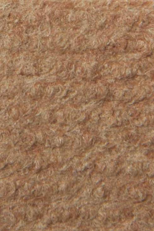 Beige exhibition cord carpet