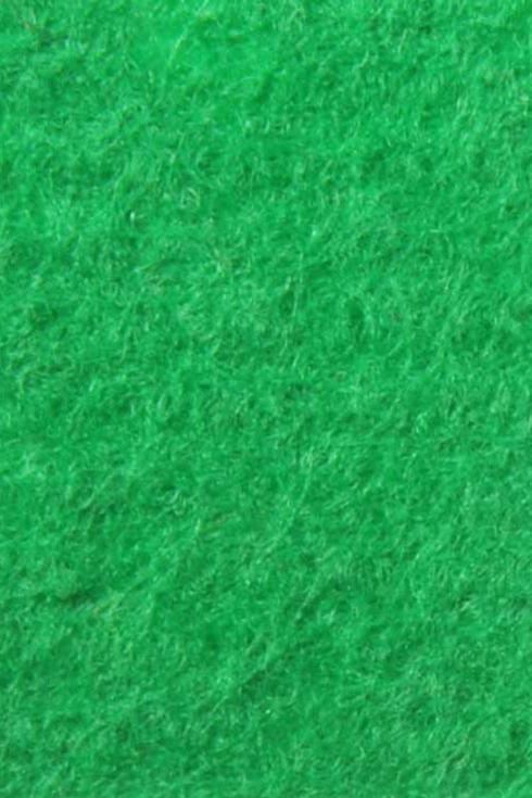 Bright Green exhibition cord carpet