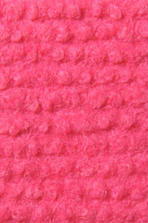 Fuchsia exhibition cord carpet