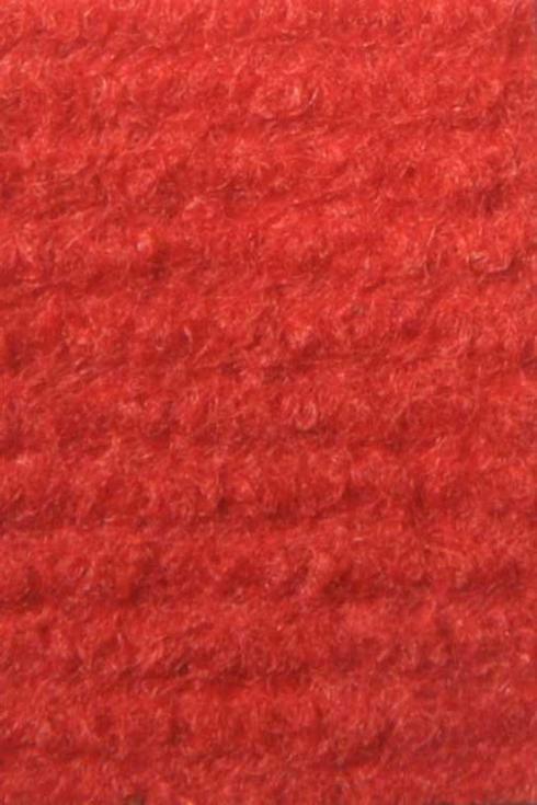 Bright Red exhibition cord carpet