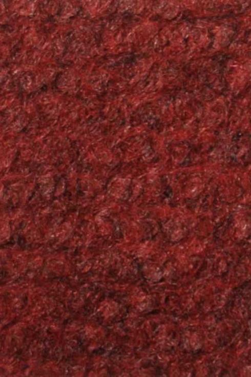 Burgundy exhibition cord carpet