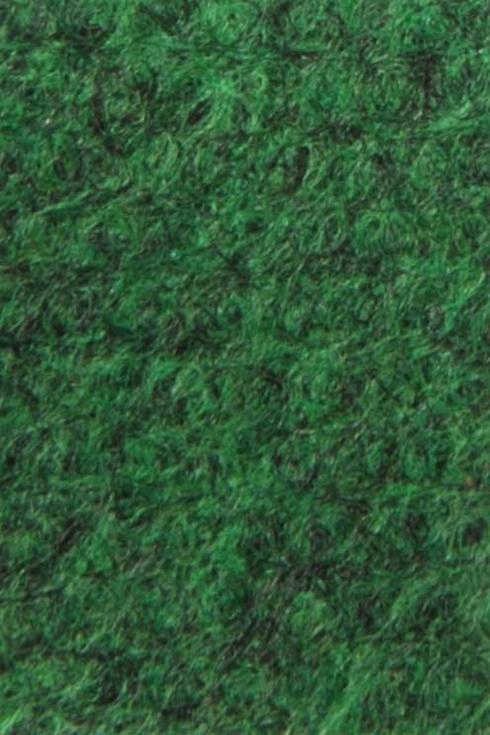 Grass green exhibition cord carpet
