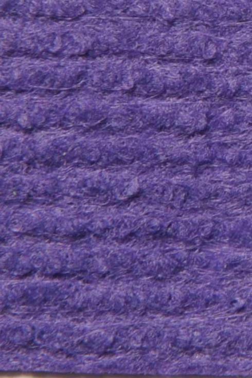 Violet exhibition cord carpet