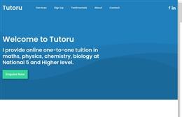 Uniq 11+ Tuition - Tutoring website design by Toolkit Websites, professional web designers