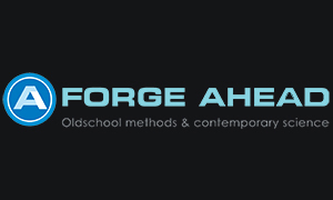 Forge Ahead logo design by Toolkit Websites, Southampton