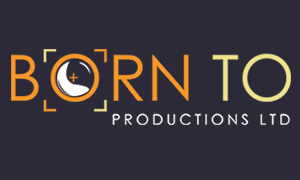 Born To Productions logo design by Toolkit Websites, Southampton