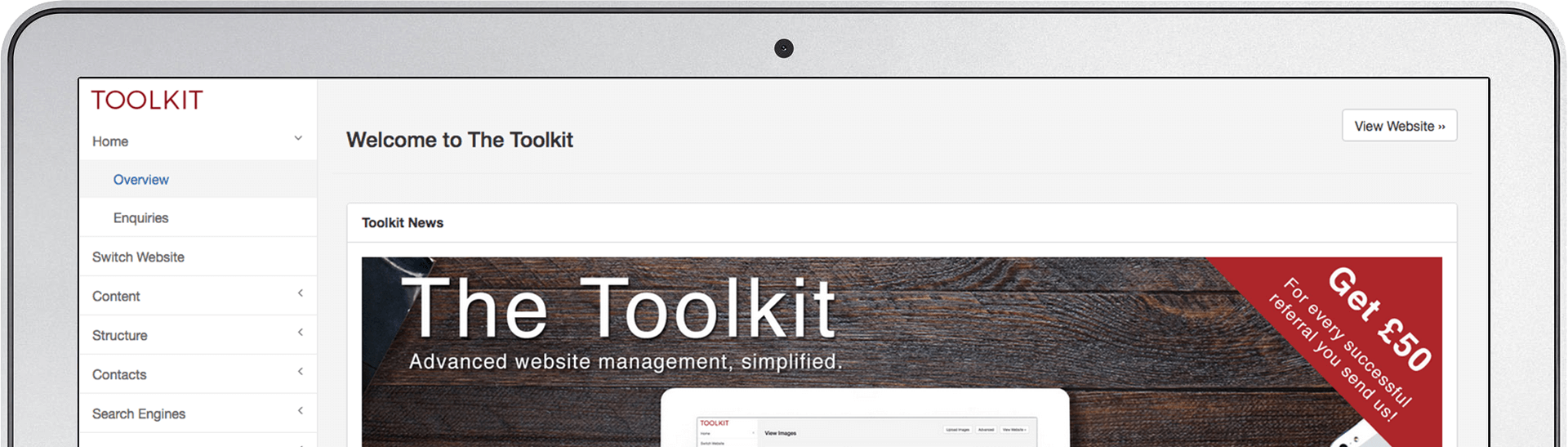 The Toolkit CMS