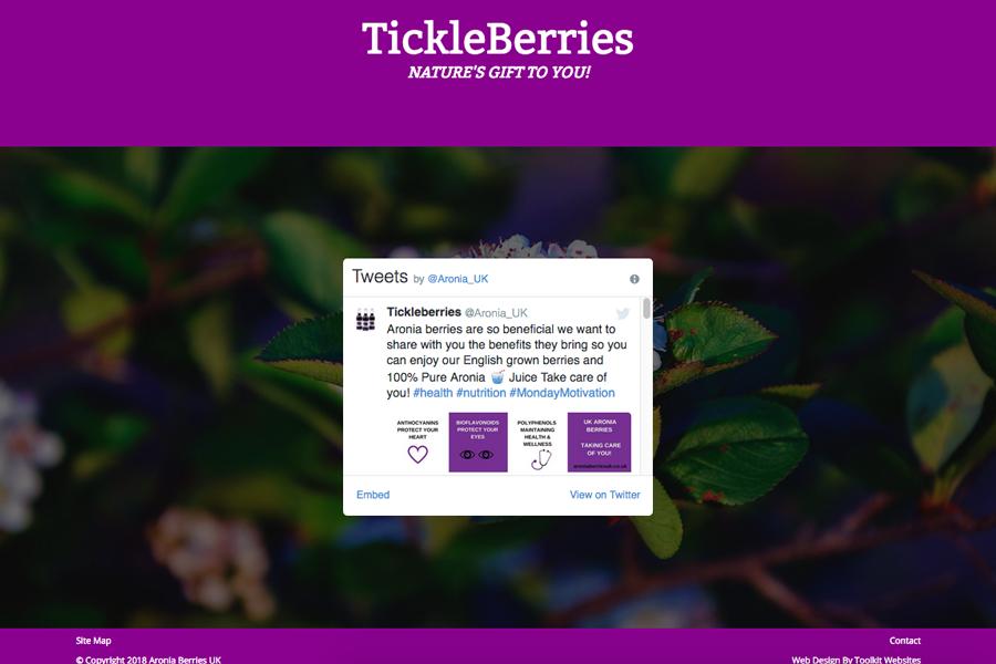 Website of the week: Aronia Berries