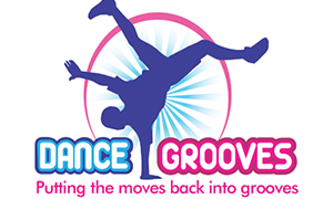 Dance Grooves logo design by Toolkit Websites, Southampton