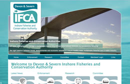 Devon & Severn IFCA - Non-profit web design by Toolkit Websites, Southampton