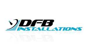 DFM Installations logo design by Toolkit Websites, expert website designers