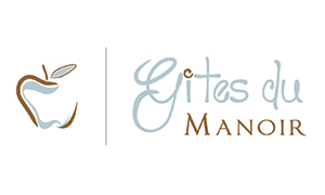 Gites du Manoir logo design by Toolkit Websites, Southampton
