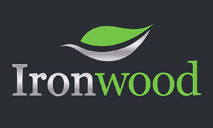 Ironwood logo design by Toolkit Websites, Southampton