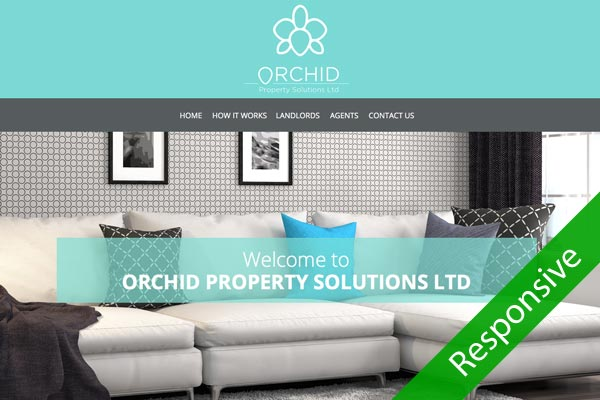 Orchid Property Solutions - web design by Toolkit Websites, Southampton