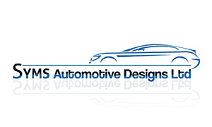 Syms Automotive Designs logo design by Toolkit Websites, Southampton