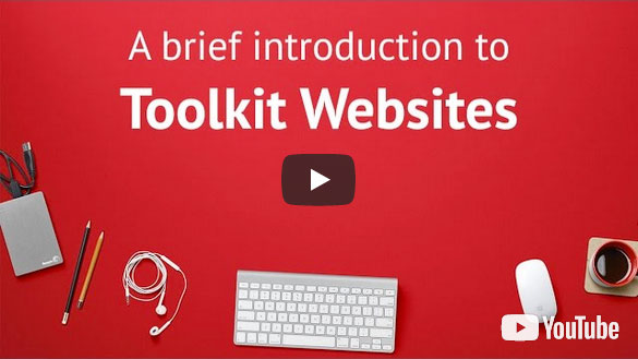 Introduction to Toolkit Websites - professional web design company